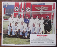 Escape to Victory, Original Lobby Card #5, Line-Up featuring all the stars 1981
